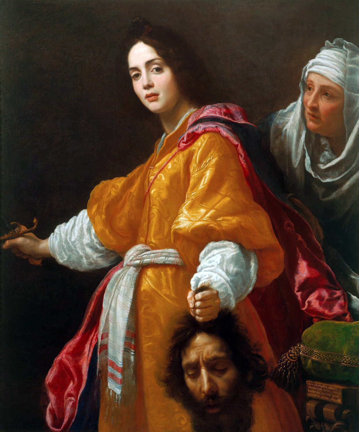 Painting of Judith with the head of Holofernes