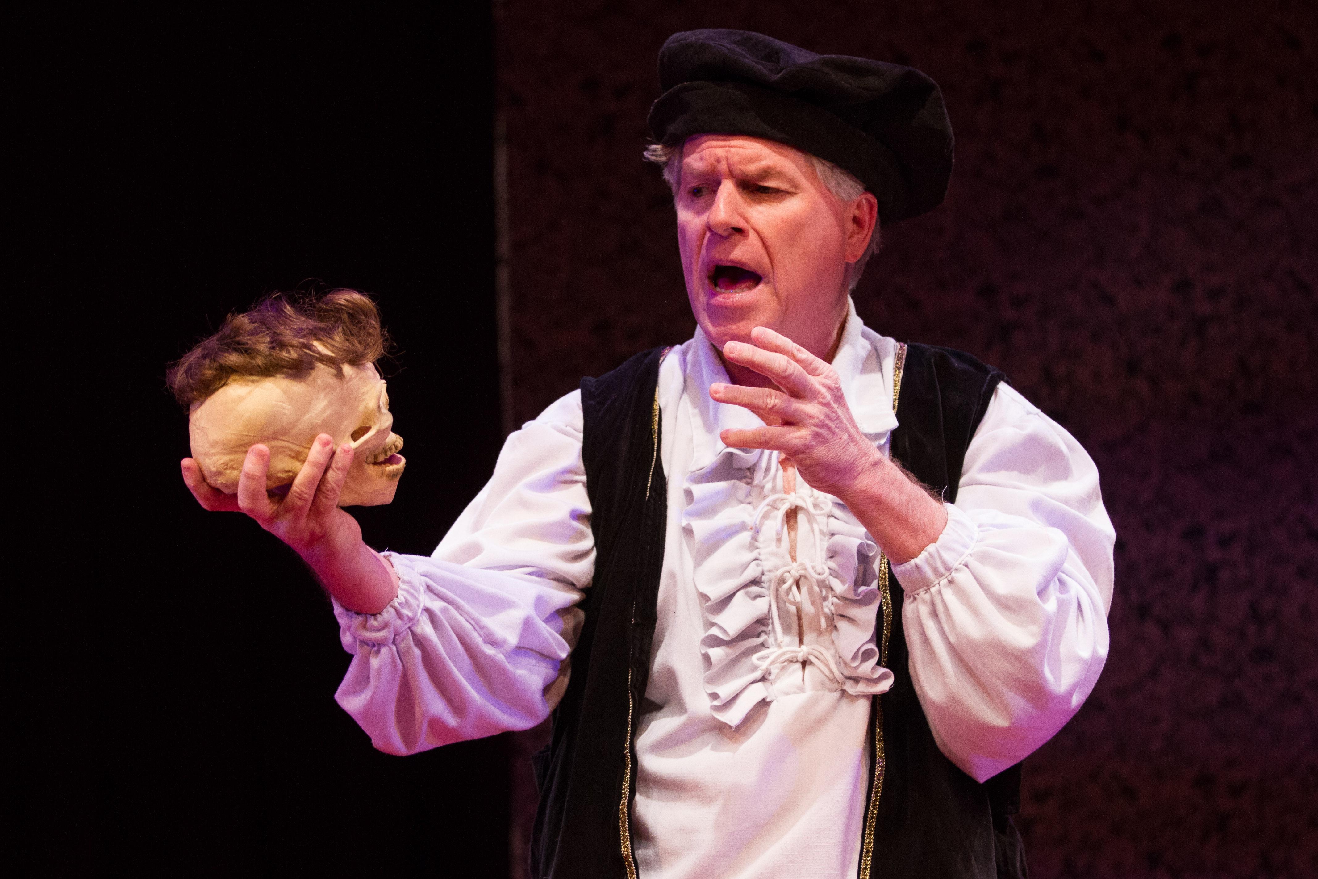 Photo of Shakespearean actor