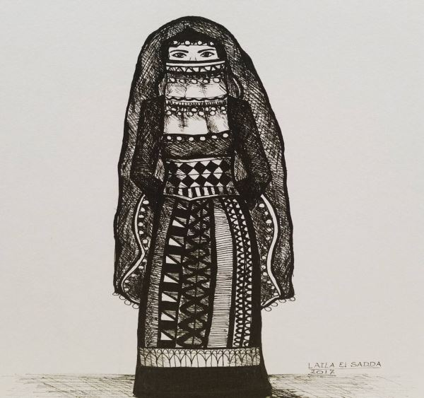 Bedouin Costume by Laila El Sadda