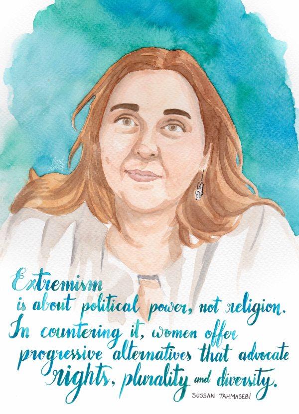 Carol Rosetti - Sussan Tahmasebi, 2016