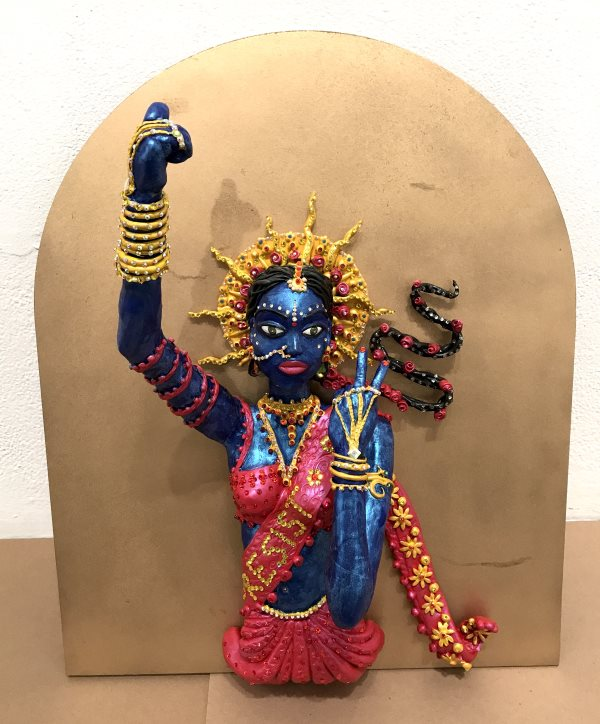 Jaishri Abichandani - Goddess of Resistance, 2017