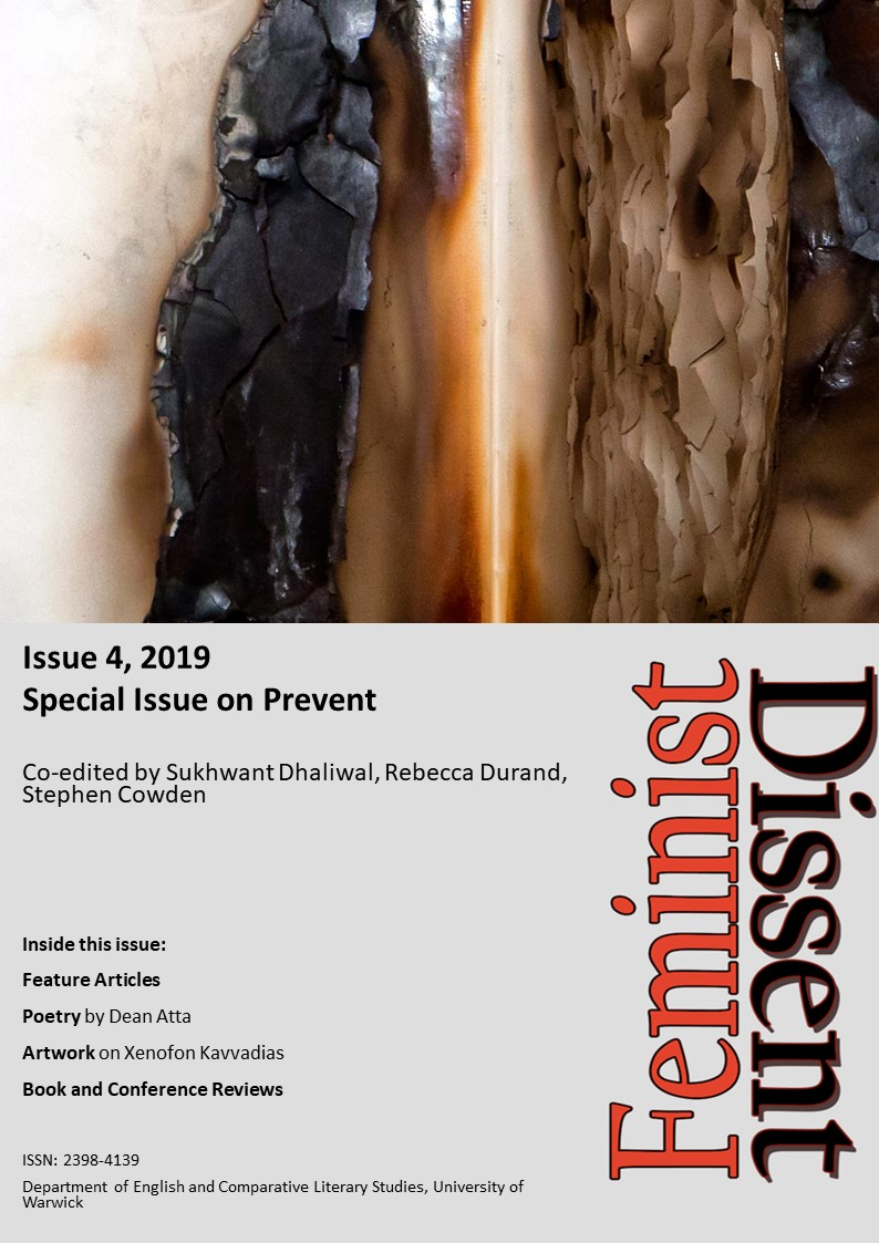 Cover image of Issue 4 of Feminist Dissent